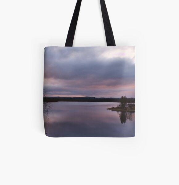 Ouluanka Sunset Allover-Print Tote Bag