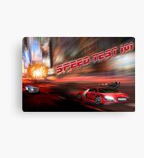 speed tests Canvas Print