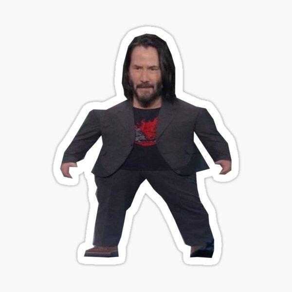 Mini Keanu Sticker