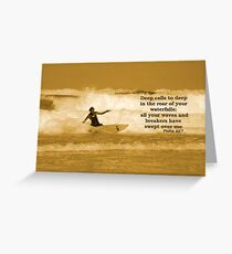 Waves and Breakers Greeting Card