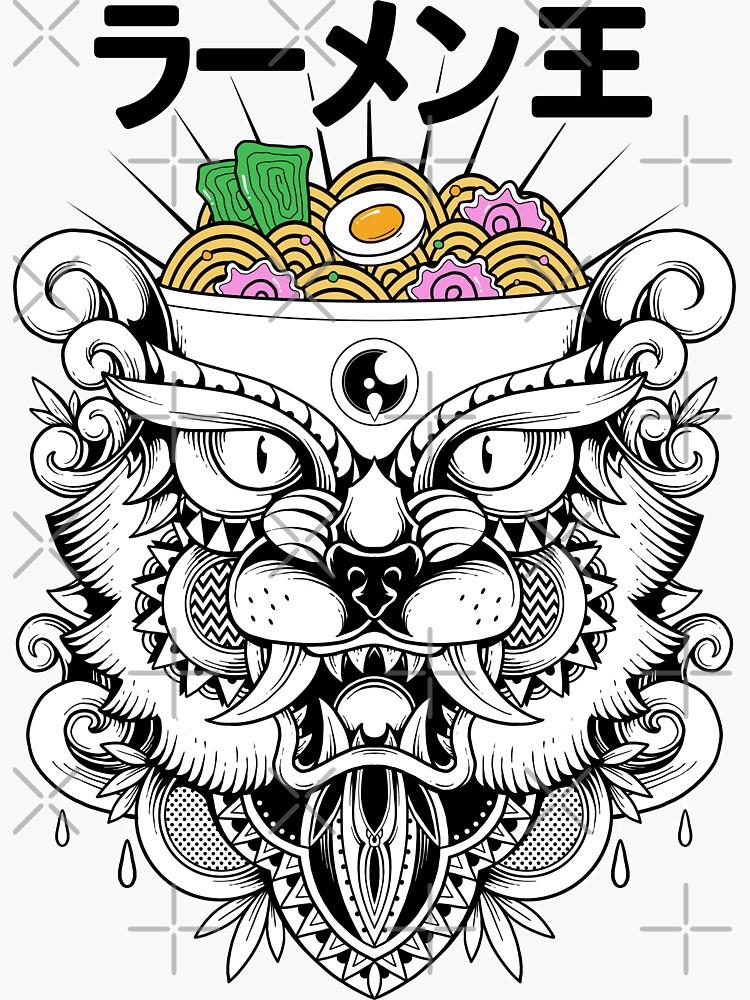 King of Ramen by GODZILLARGE