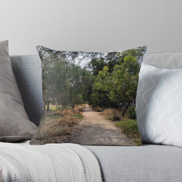 melbourne trails Throw Pillow