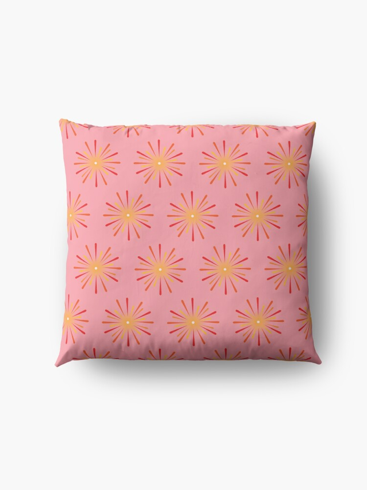 Alternate view of I love fireworks Floor Pillow
