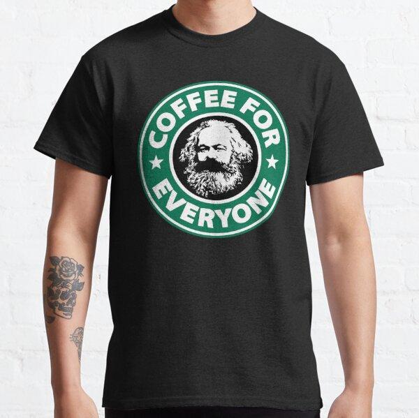 Karl Marx - Café socialiste T-shirt classique