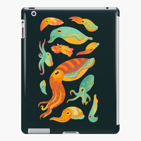 Cuttlefish - dark iPad Snap Case