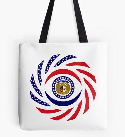 Missouri Murican Patriot Flag Series Tote Bag