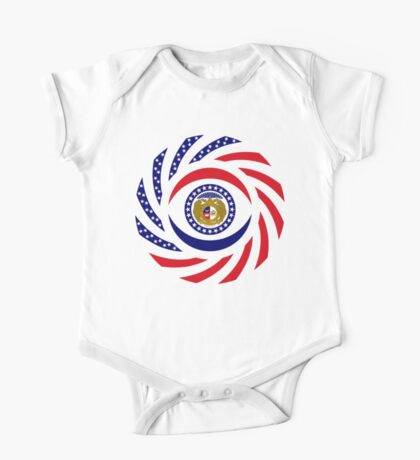 Missouri Murican Patriot Flag Series Kids Clothes