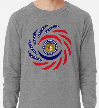 Missouri Murican Patriot Flag Series Lightweight Sweatshirt