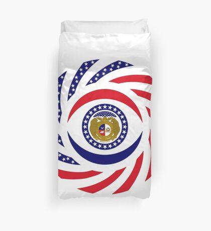 Missouri Murican Patriot Flag Series Duvet Cover