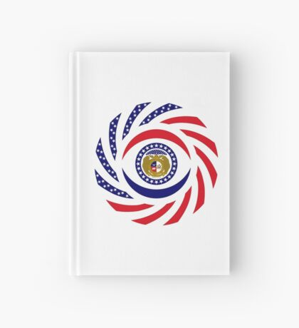 Missouri Murican Patriot Flag Series Hardcover Journal