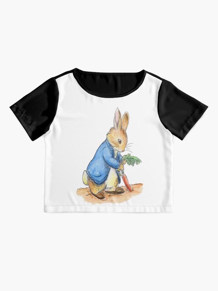 Alternative Ansicht von Kindergartenfiguren, Peter Rabbit, Beatrix Potter. Chiffon Top