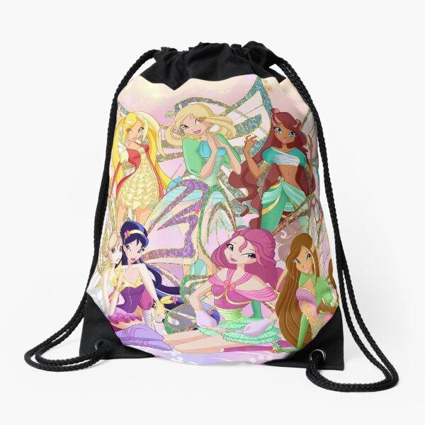 winx club Drawstring Bag