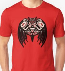 Raven Crow in a Pacific North West Style, Native American Style T-Shirt