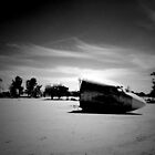 Desert plane by Cameron McHarg