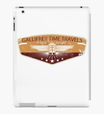 GALLIFREY TIME TRAVELS iPad Case/Skin