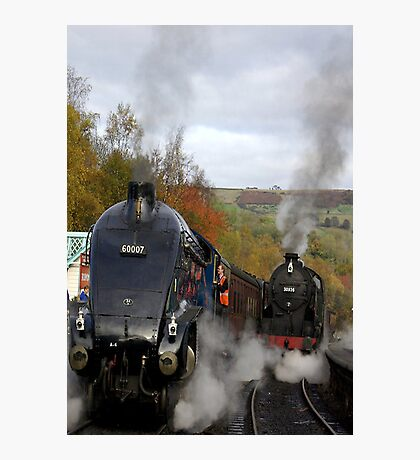 The Age of Steam Photographic Print