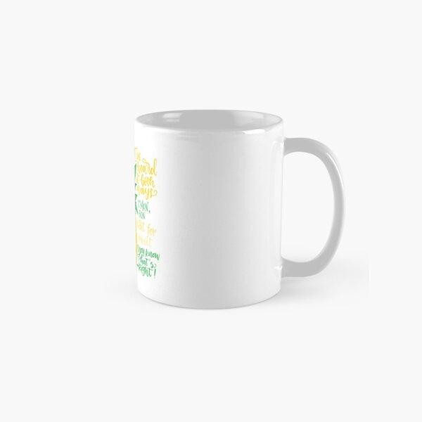 Psych - Quotes Classic Mug