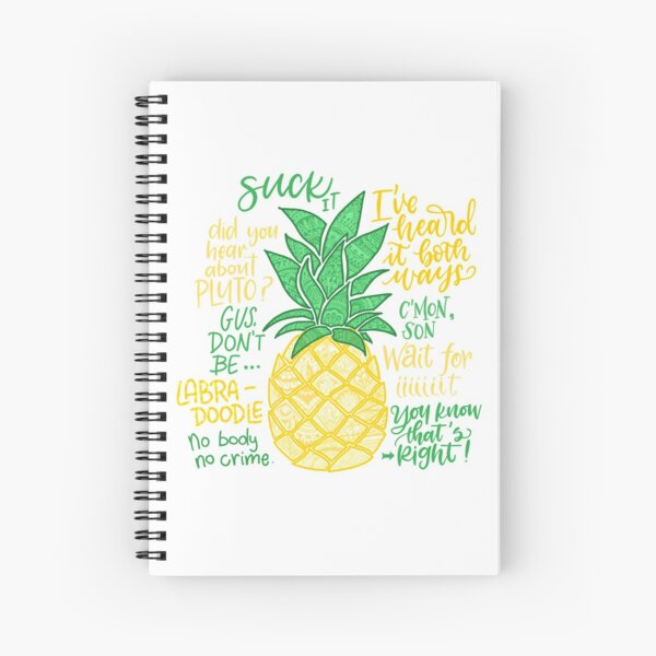 Psych - Quotes Spiral Notebook