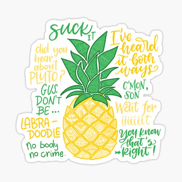 Psych - Quotes Sticker