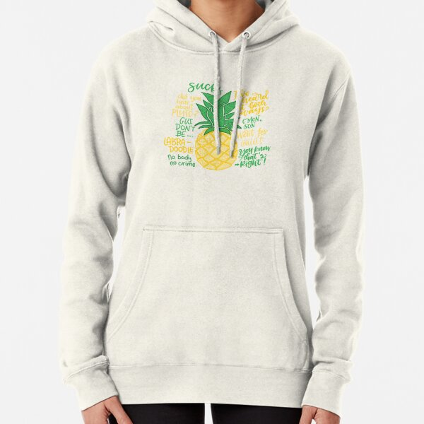 Psych - Quotes Pullover Hoodie
