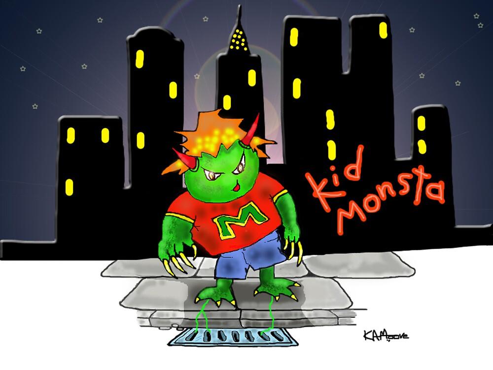 Kid Monsta by Kev Moore