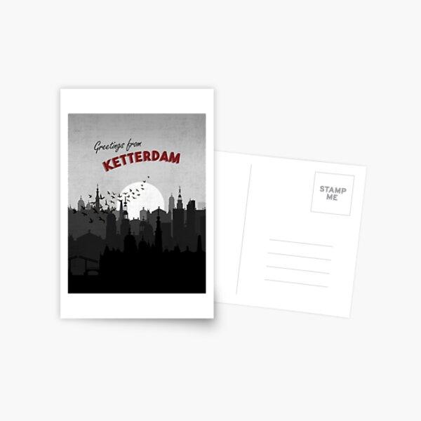 Greetings from Ketterdam Six of Crows Postcard Art Postcard