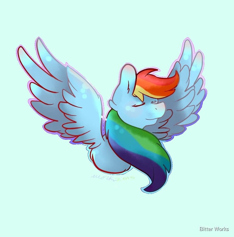 Rainbow Dashie by sketch0works