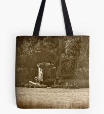The Old Abandoned Tug Boat Tote Bag
