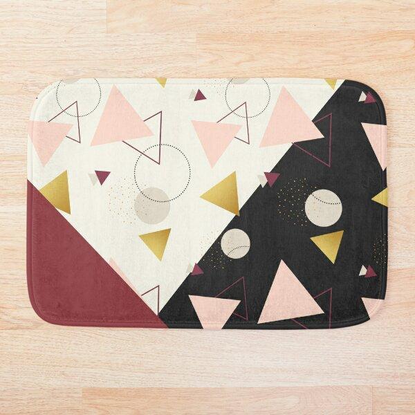 Triangles Mix Bath Mat