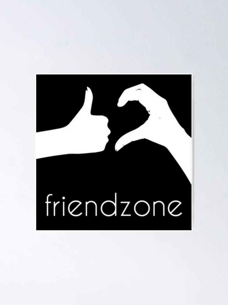 Friendzone Logo !!! Poster by bataha | Redbubble