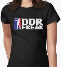 DDR FREAK Women's Fitted T-Shirt