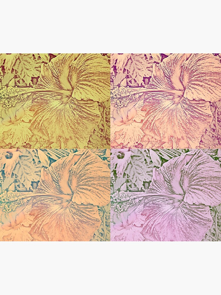 Hibiscus Vintage Quilt Pattern by KnutsonKr8tions