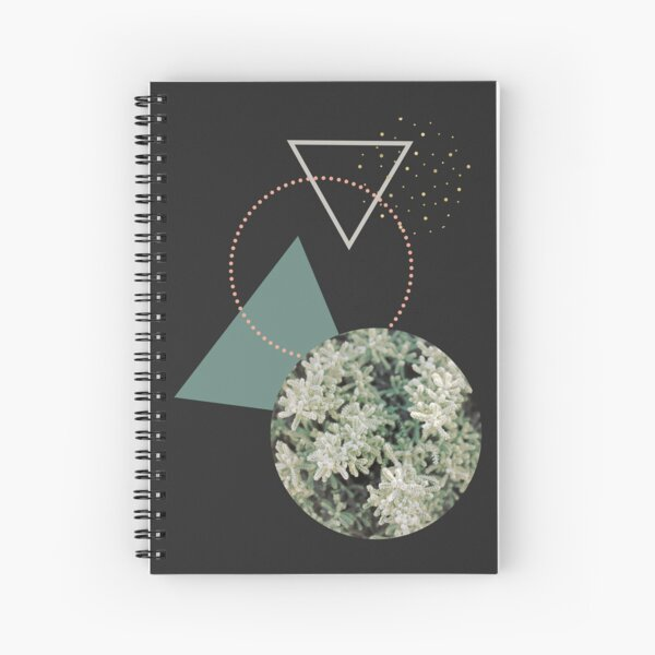 Hello Winter #redbubble #decor #winter Spiral Notebook