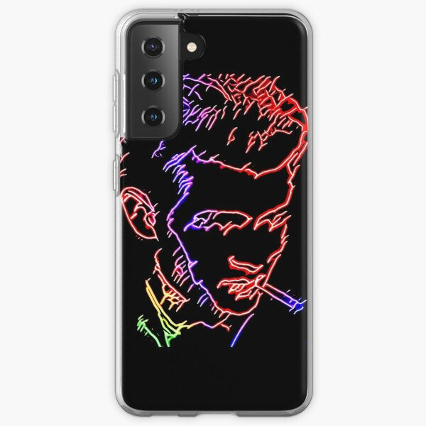James Dean Psychedelic Tribute. WallsOfFameAust Samsung Galaxy Soft Case