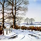Winter Trees by Ann Mortimer