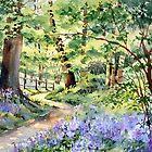 Bluebell Wood by Ann Mortimer