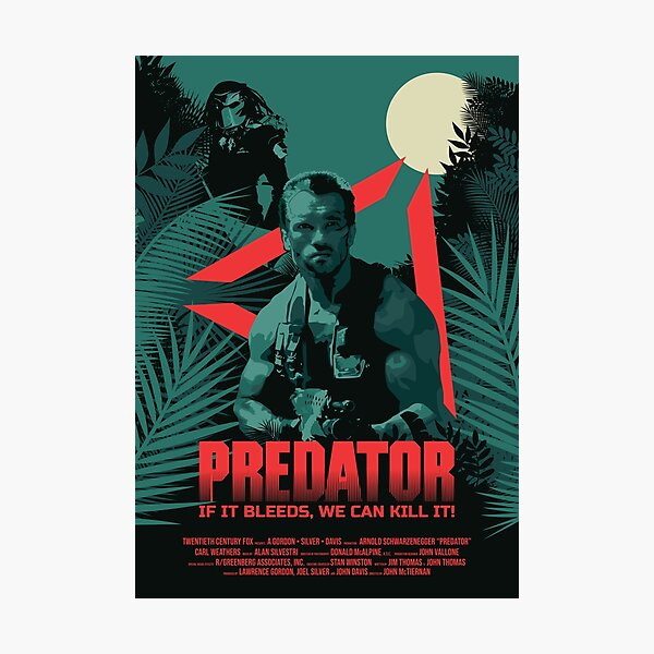 Predator Photographic Print