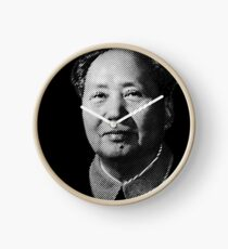 Chairman Mao Zedong, portrait T-shirt Clock