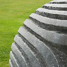 Peter Randall-Page sculpture at Wakehurst Place by Celia Strainge
