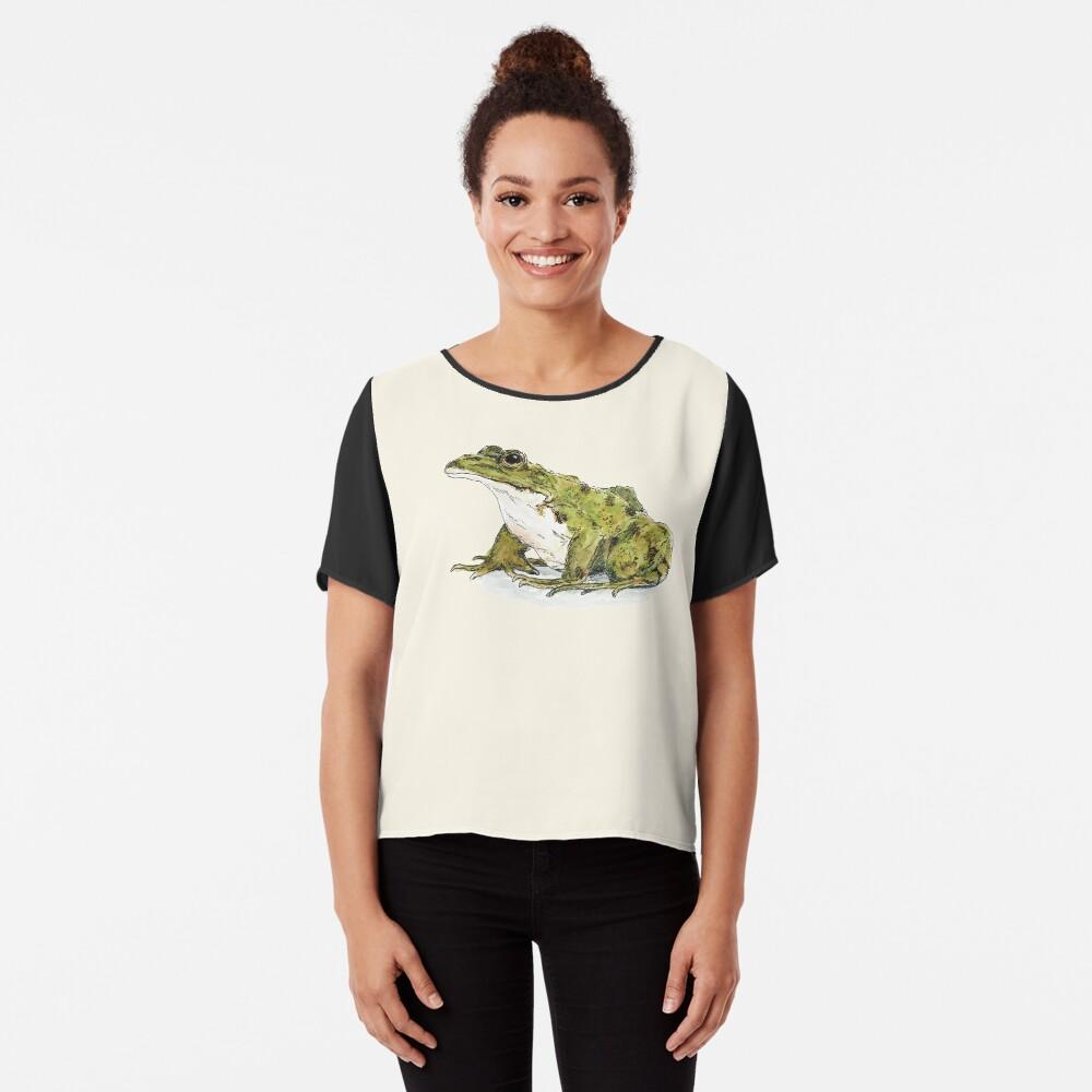 Frog Chiffon Top