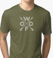 Woof! Tri-blend T-Shirt