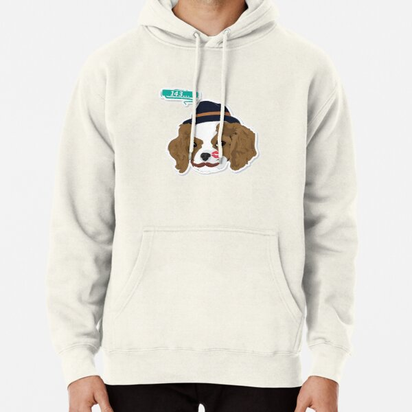 "Hipster Cavalier ""143"" Pullover Hoodie"