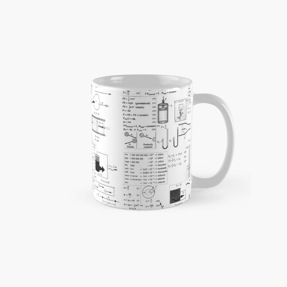 General Physics Formula Set, mug,standard,x1000,right-pad,1000x1000,f8f8f8