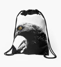 ~ Currawong ~ Drawstring Bag