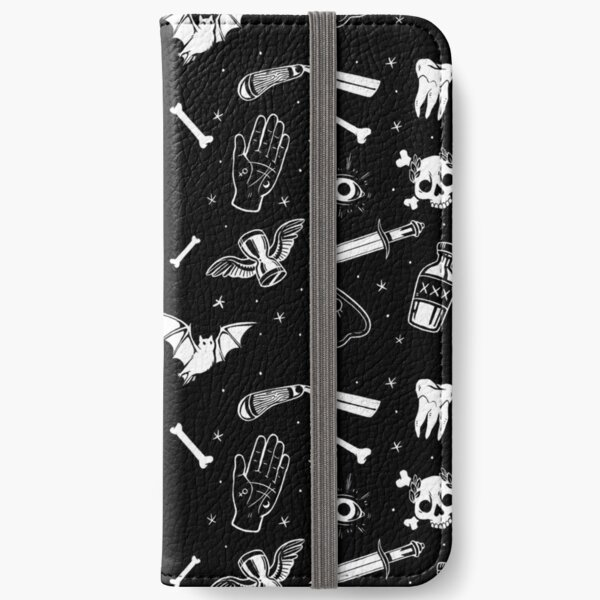 A Few of My Macabre Things iPhone Wallet