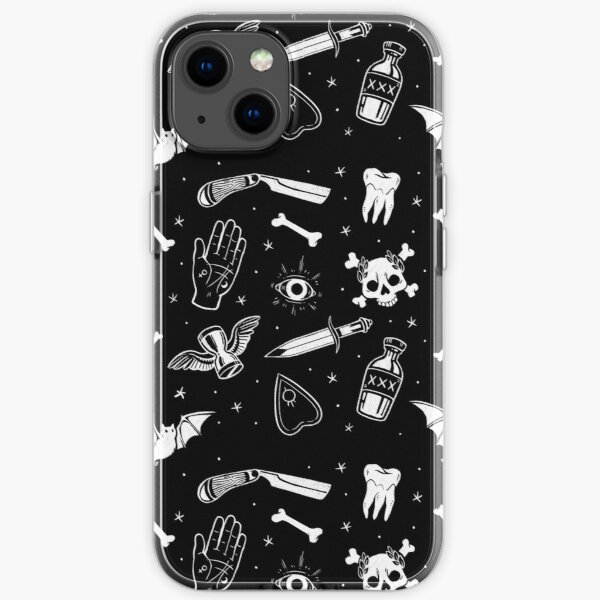 A Few of My Macabre Things iPhone Soft Case