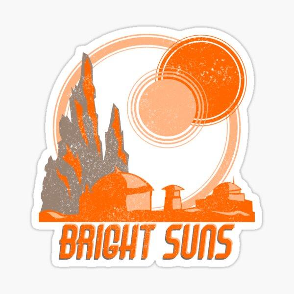 Bright Suns Sticker