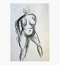 Bodies 1: Figure Sketch Photographic Print