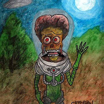 E.M.A.T. ...the Extra Mars Attacks! Terrestrial  by CattapanComics