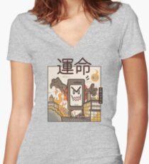 Technological Breakdown 2 Fitted V-Neck T-Shirt
